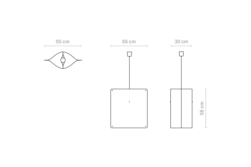 Finomlights®_Square_pendant_large_SPL_measurements
