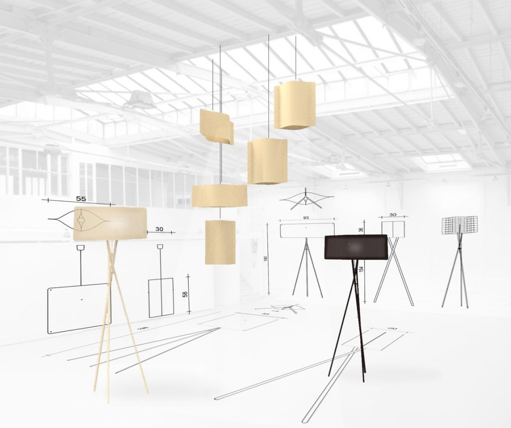 3d models of Finom design lights