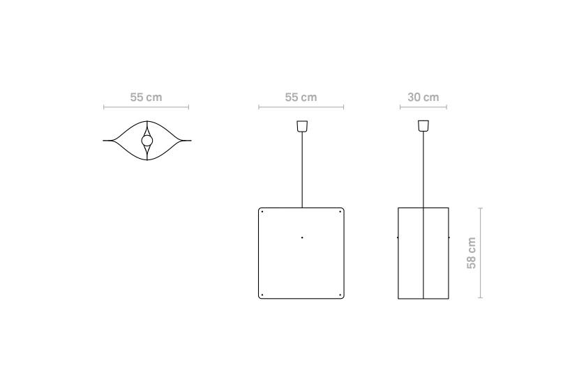Finomlights®_Square_pendant_large_SPL_measurements