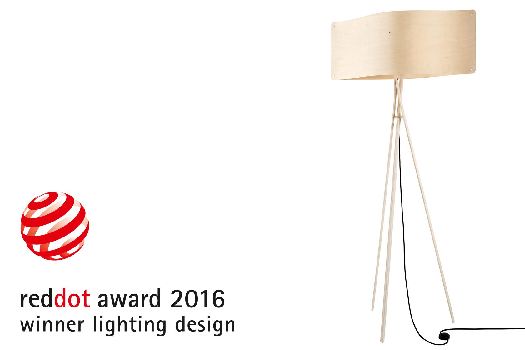 Finom Light Gets Red Dot Design Award Designer Lights