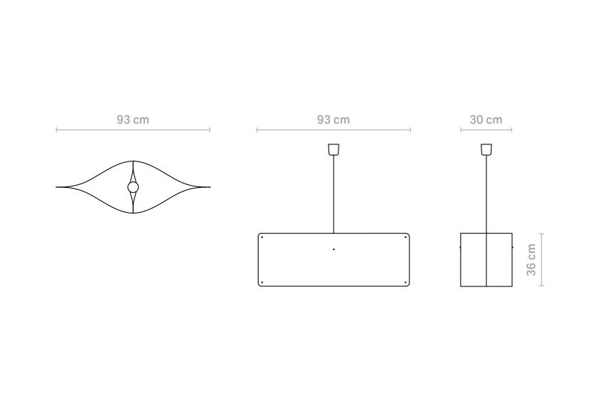 Finomlights®_Wide_pendant_large_WPL_measurements