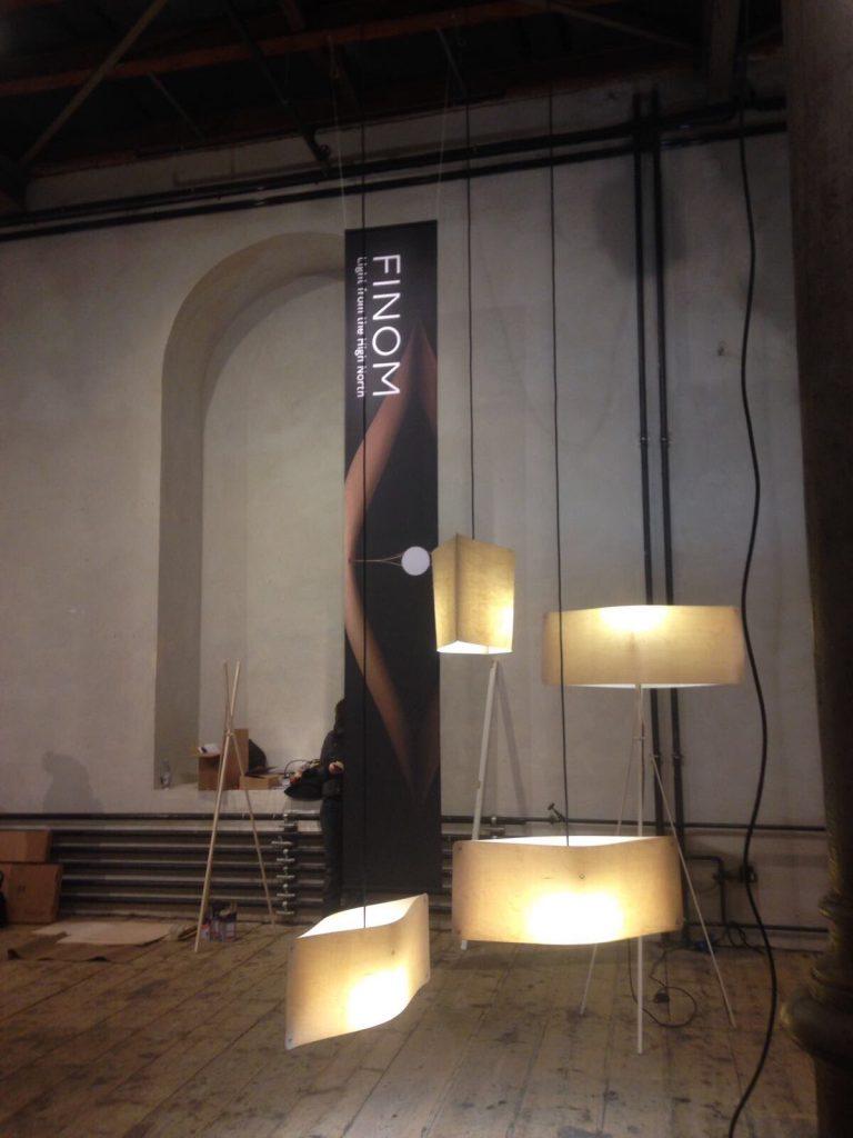 Finom designer lights designvalaisin